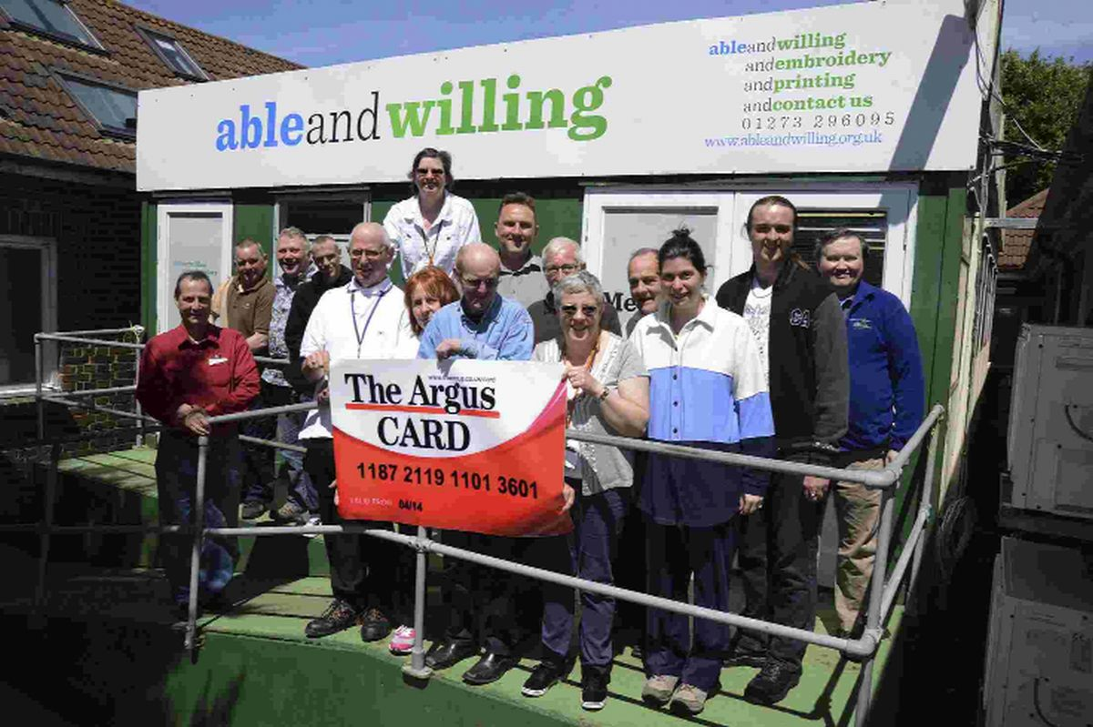The team at Able and Willing in Hove