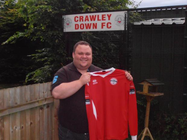 New Crawley Down boss Tim Penlington
