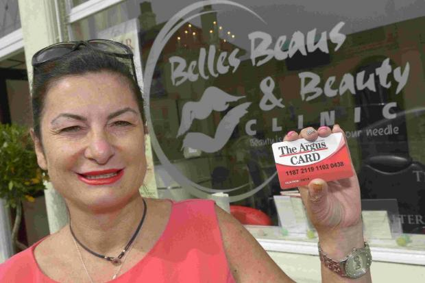 Grace Jackman of Belles, Beaus and Beauty, Lancing