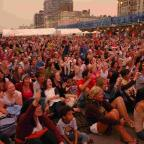 The Argus: Crowds gather at the Brighton Big Screen