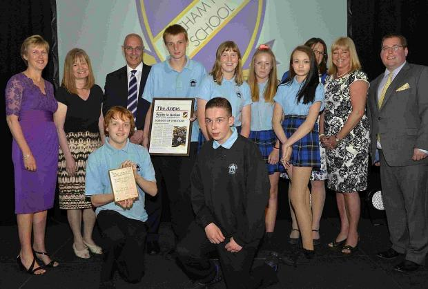 Patcham High wins School of the Year