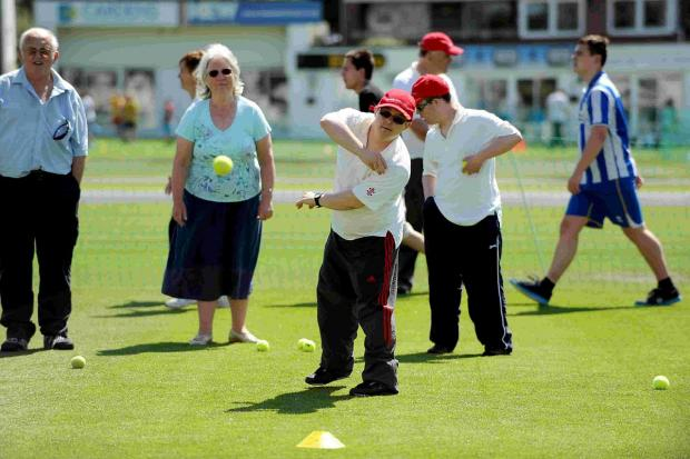 The annual  Disability Day at Sussex CCC was a big success
