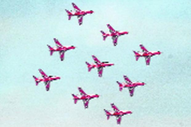 The Argus: FLYING HIGH: The Red Arrows
