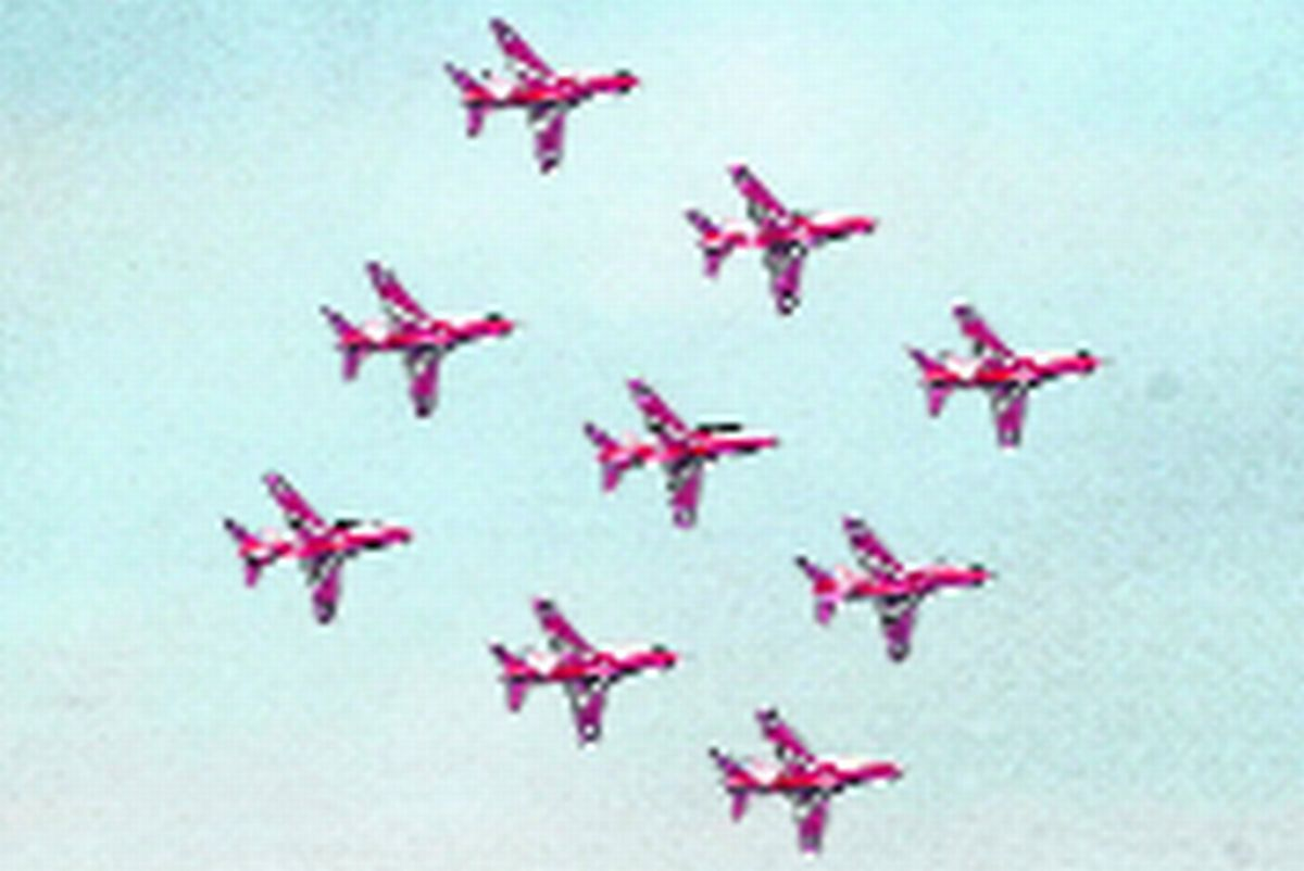 FLYING HIGH: The Red Arrows