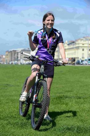 Grace Henderson is taking part in her third Stilettos On Wheels event