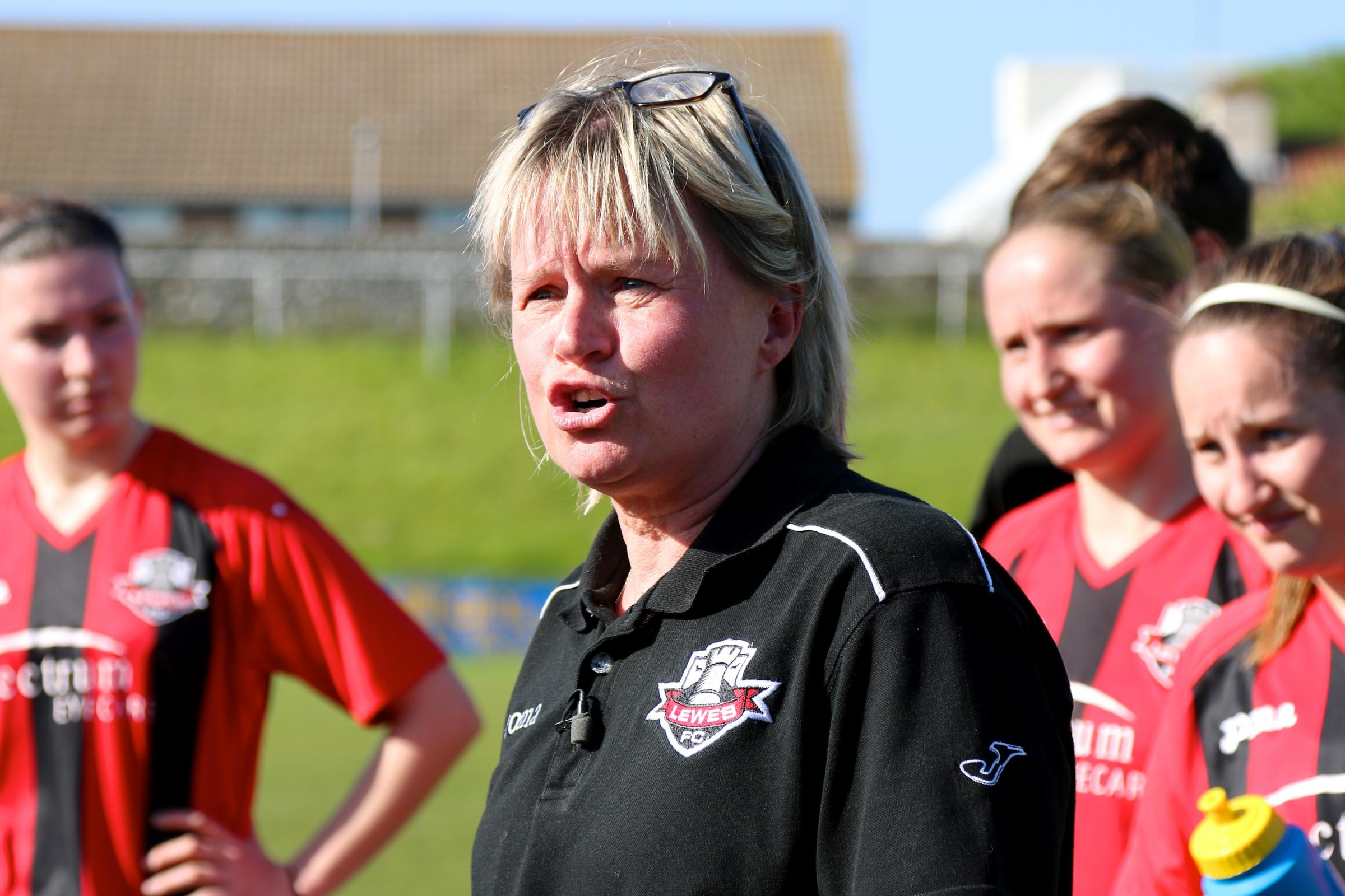 Jacquie Agnew has taken on a new role at Lewes. Picture by James Boyes
