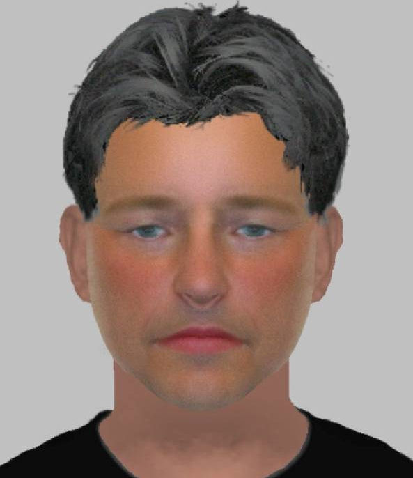 Efit of the man Sussex Police believe could be involved in the thefts.