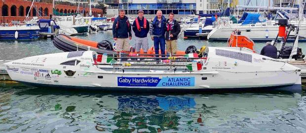 Nick and Phil McCorry and their team prepare for their voyage