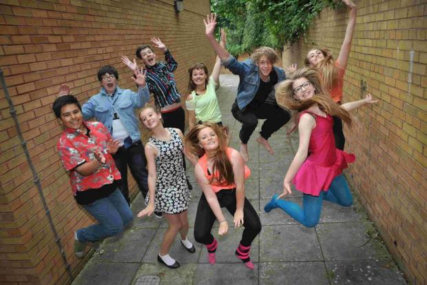 Pupils take to the stage for Fame