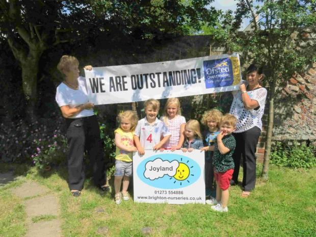 Outstanding nursery is celebrating