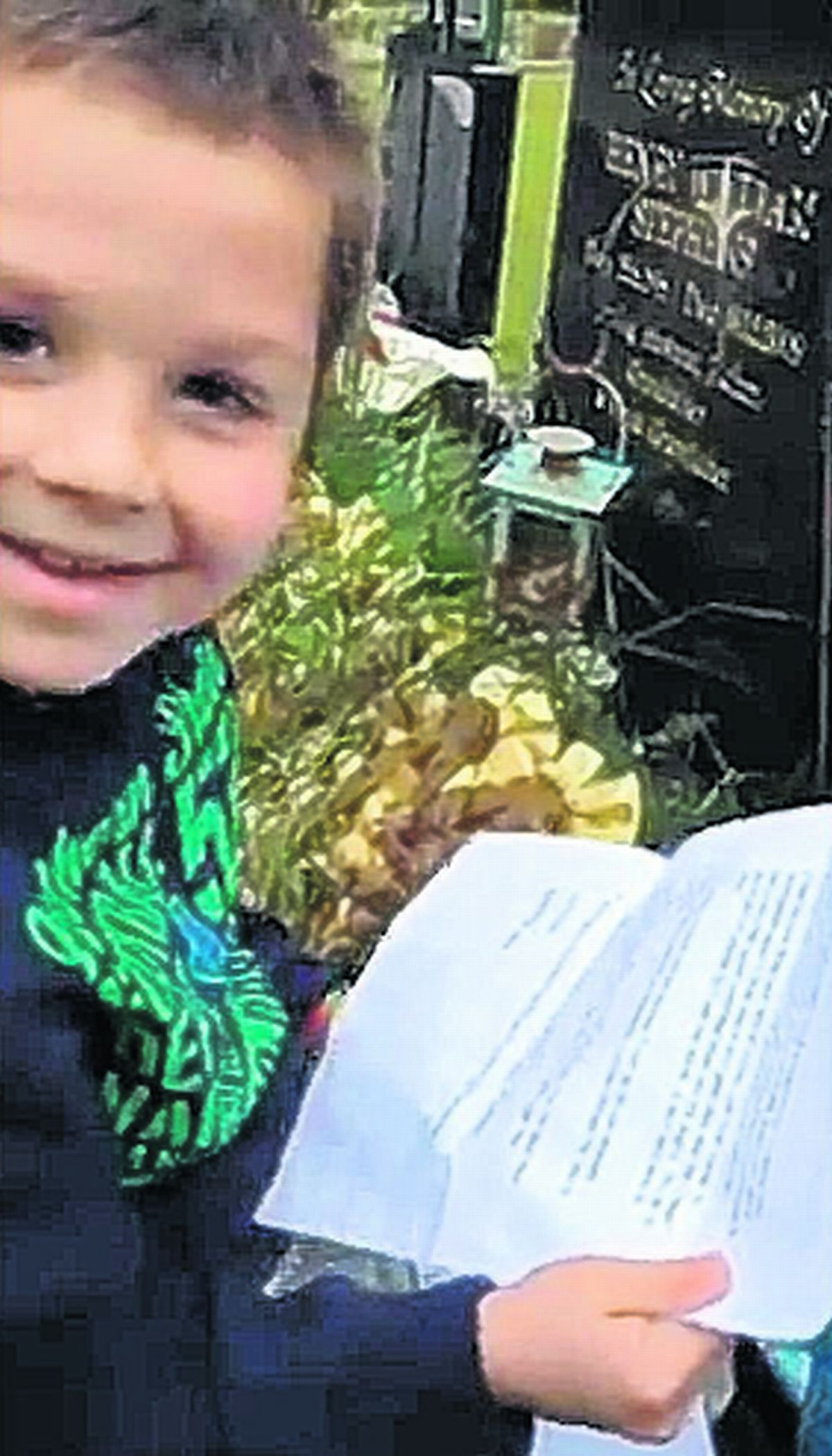 VIDEO: Father's touching letter to eight-year-old son from beyond the grave