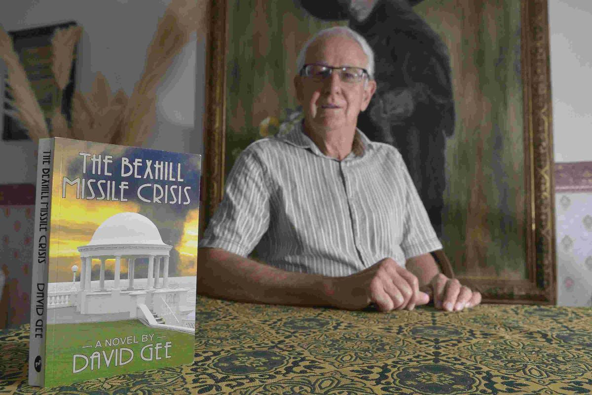 David Gee, author of The Bexhill Missile Crisis