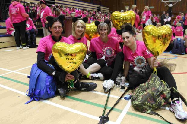 The Argus: Walkers raise £143,000 for St Barnabas House hospice