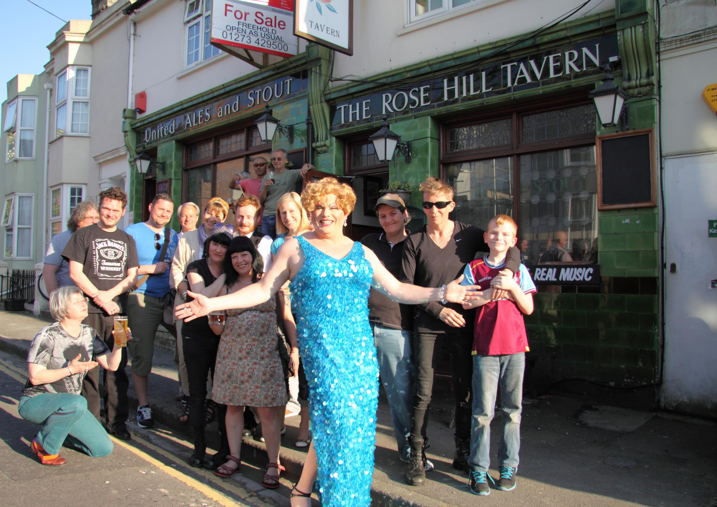 Campaign to save historic pub hots up