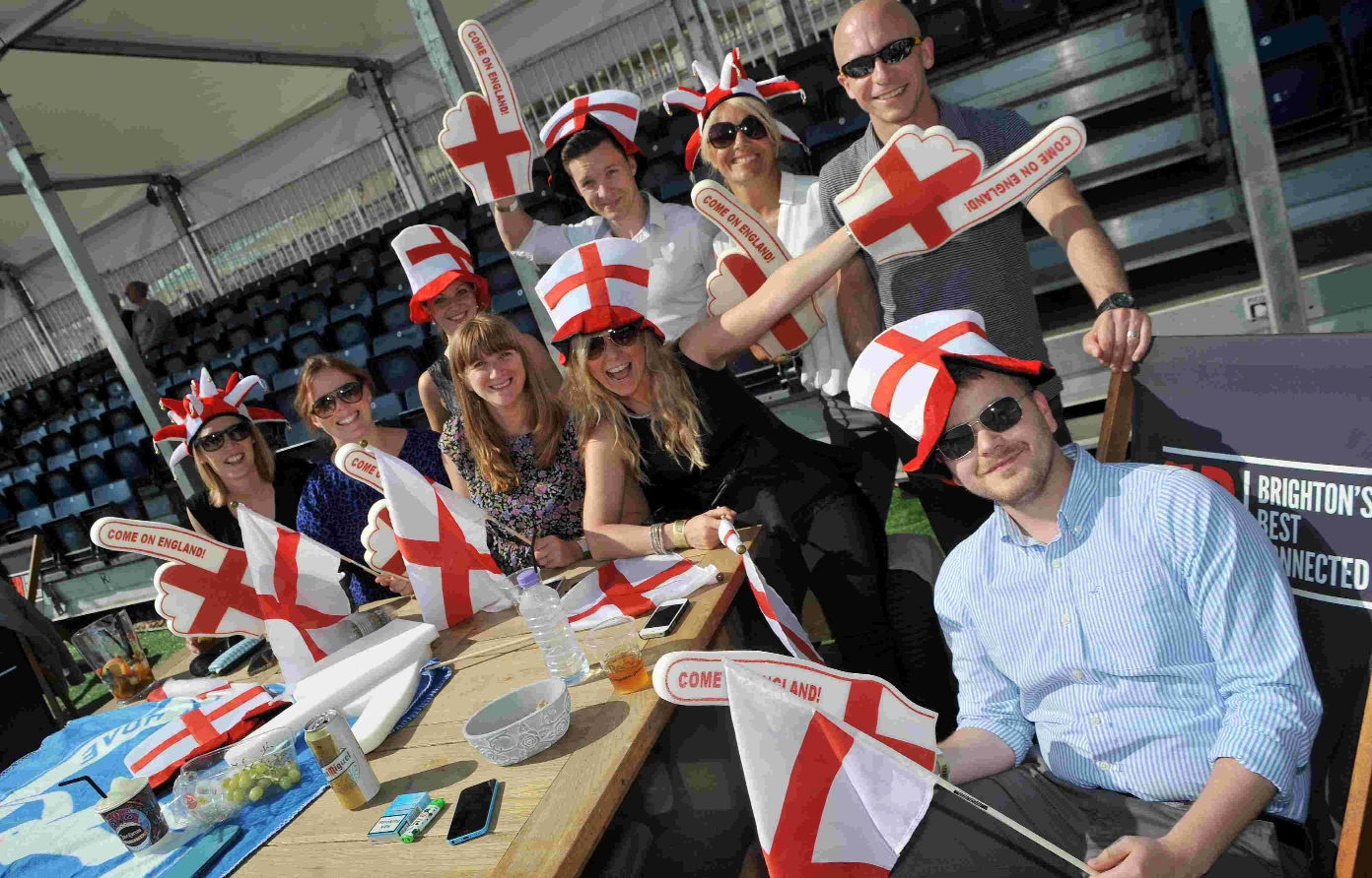 World Cup fans upbeat as England bow out