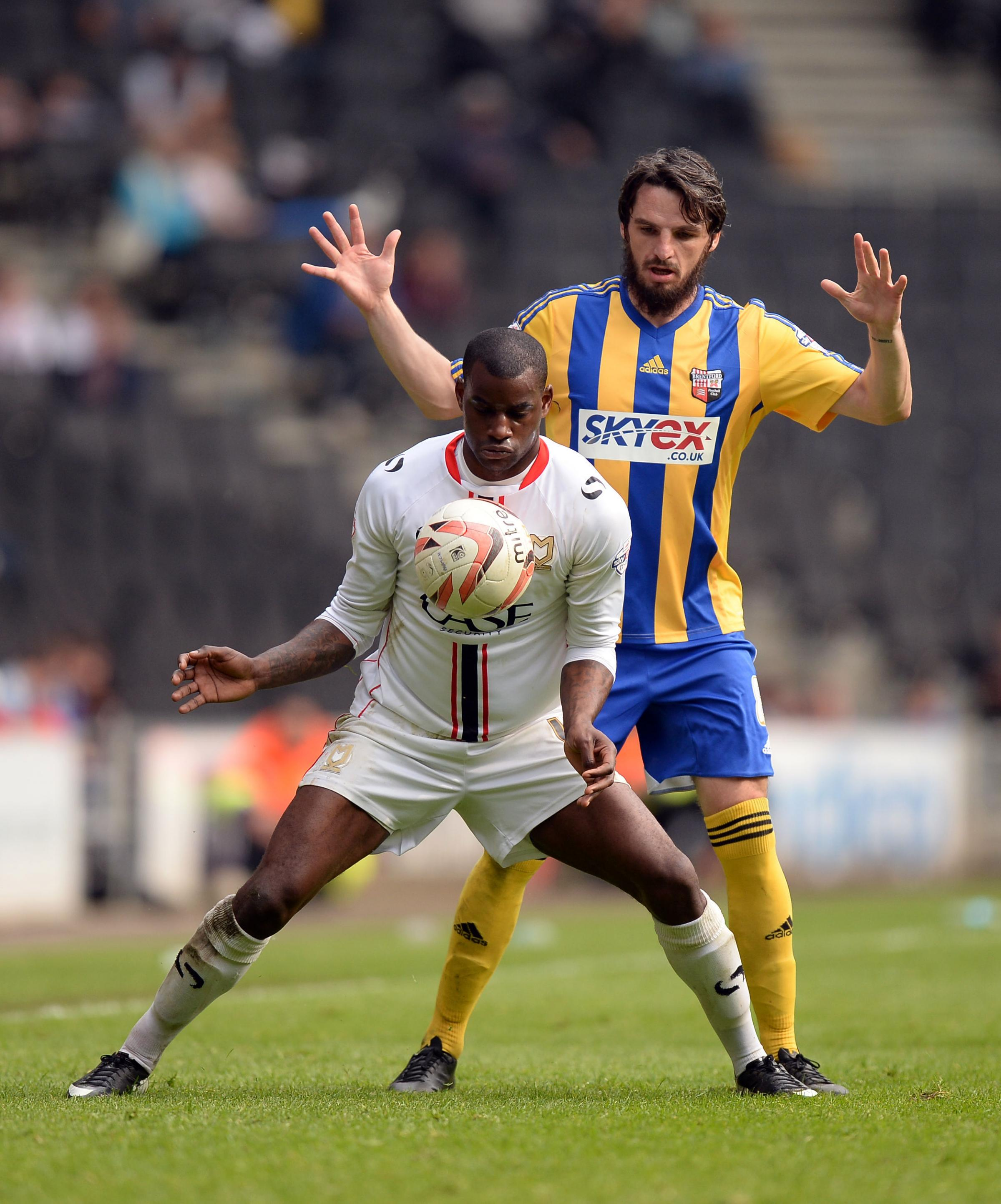 Izale McLeod scored ten goals in 40 games for MK Dons last season