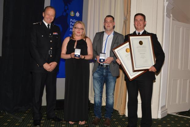 Courageous couple awarded for protecting rape victim