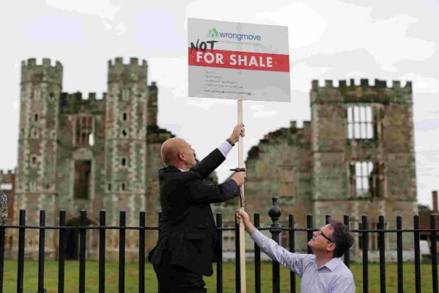 The Argus: Greenpeace activists  target the South Downs National Park Authority meeting with a Not For Shale roadshow
