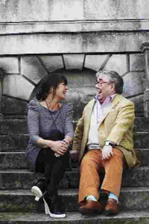Ronnie Corbett and his daughter Sophie