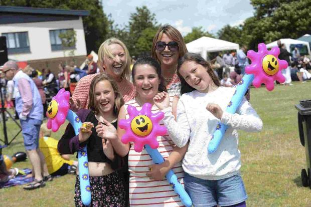 It is all smiles at Woodingdean Carnival