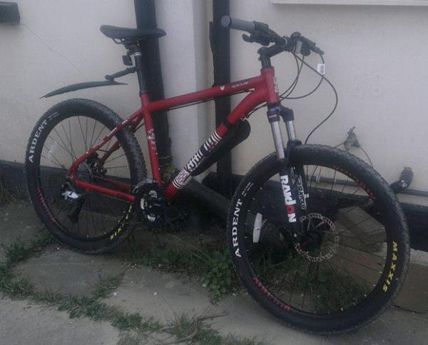 Bike stolen in flat burglary