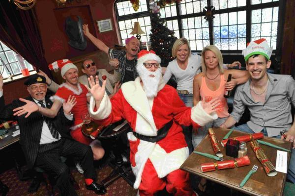 Brighton pub celebrates Christmas twice