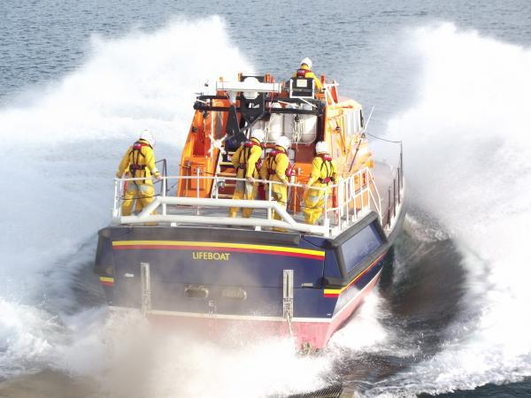 Powerboat left circling in sea as two people thrown overboard