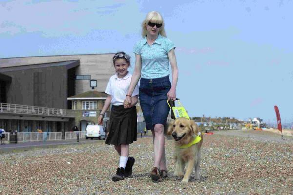 Blind mother criticises dog owners