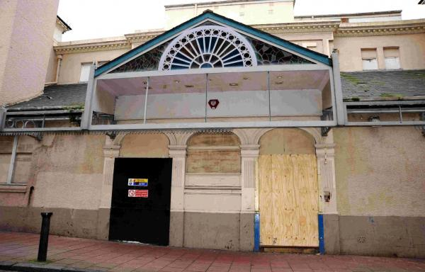 The Hippodrome has stood unused for seven years