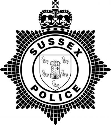 The incident was reported to Sussex Police