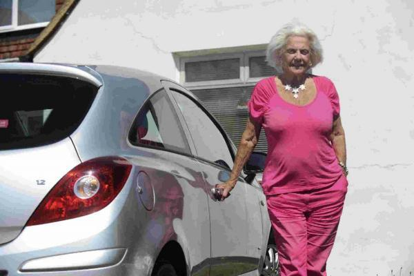 The Argus: Betty Teague, 85, is banned from driving after becoming the oldest woman to be caught drink driving in the country.