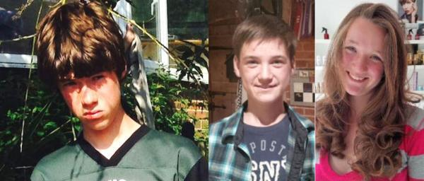 Three teenagers missing after running away last week