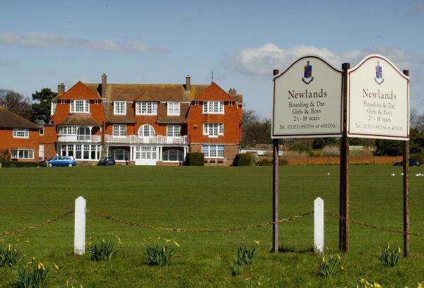 The site of Newlands School in Seaford