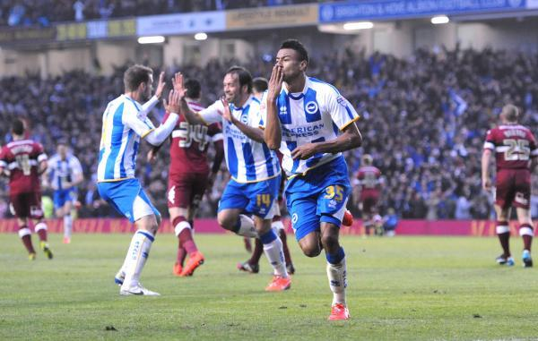 Jesse Lingard impressed on loan for Albion last season