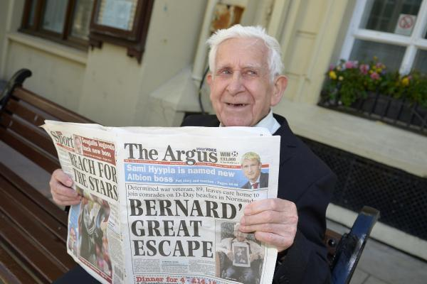 Bernard Jordan is set to become an honorary alderman of Brighton and Hove