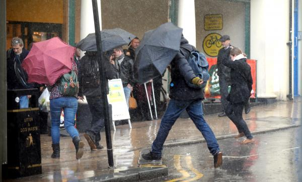 Heavy rain expected to hit the county tonight