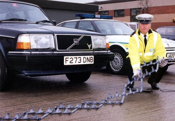 More use of stingers to halt getaway cars on Sussex's roads