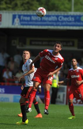Joe Walsh is one of only three senior players left at Crawley from last season