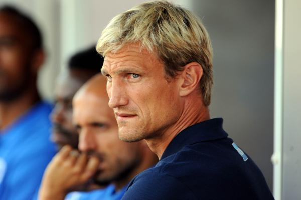 Sami Hyypia watches the game last night