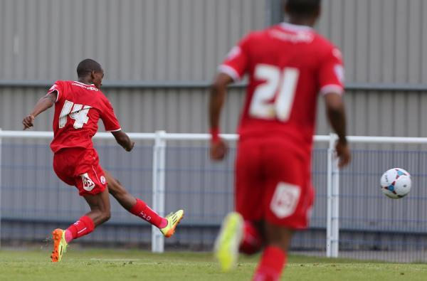 Lewis Young scores for Reds