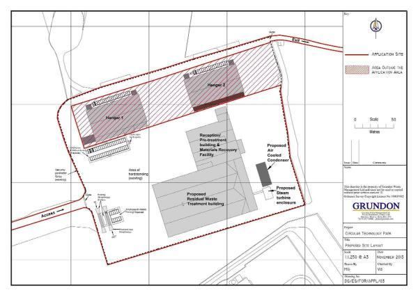 The incinerator plans