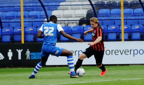 Craig Mackail-Smith in action against Peterborough last Saturday