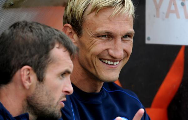 Sami Hyypia takes charge at the Amex tonight