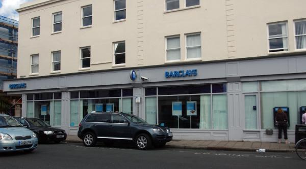 "Barclays in George Street, Hove, will become ""counter-less"" in the autumn"