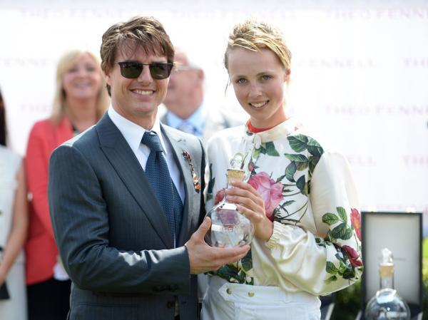 Tom Cruise stars at Glorious Goodwood
