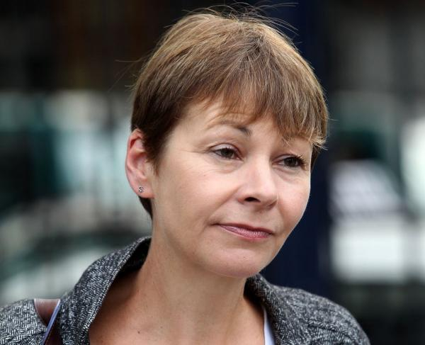 SERIOUS QUESTIONS: Brighton Pavilion MP Caroline Lucas