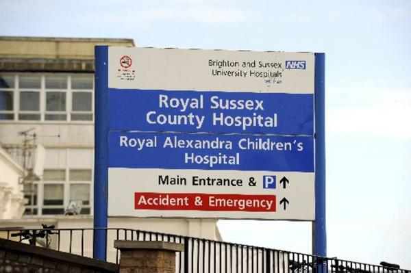 Three wards at the Royal Sussex County Hospital were closed due to the norovirus outbreak.