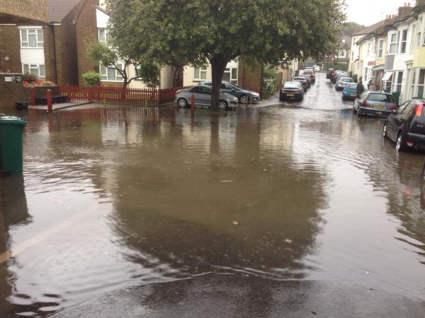 Residents fear flooding could return despite emergency drain clearing