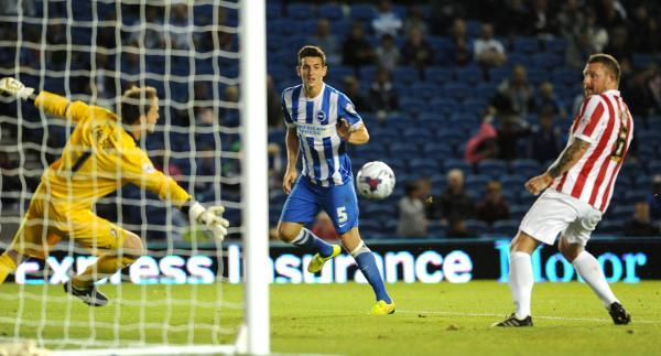 Lewis Dunk heads the opener