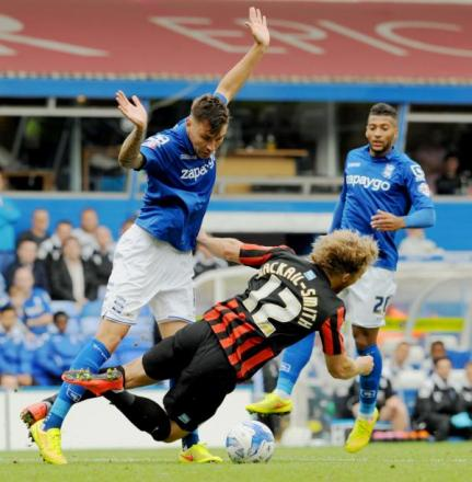 Was it a penalty? Grant Hall and Craig Mackail-Smith